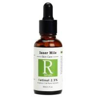 Sérum Profissional - Ácido Retinóico 2,5% + Vitamina E + Extratos de Plantas